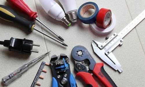 Materiais para instalação elétrica